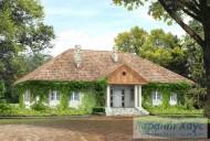 78-proekt.ru - Проект Одноквартирного Дома №299.  Вид №1