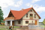 78-proekt.ru - Проект Одноквартирного Дома №137.  Вид №1