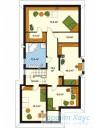 78-proekt.ru - Проект Одноквартирного Дома №317.  План Второго Этажа