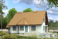 78-proekt.ru - Проект Одноквартирного Дома №190.  Вид №2