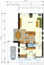 78-proekt.ru - Проект Одноквартирного Дома №72.  План Первого Этажа