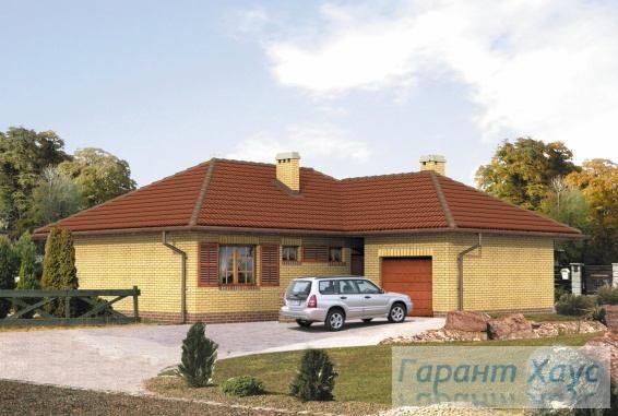 Проект одноквартирного дома № 208