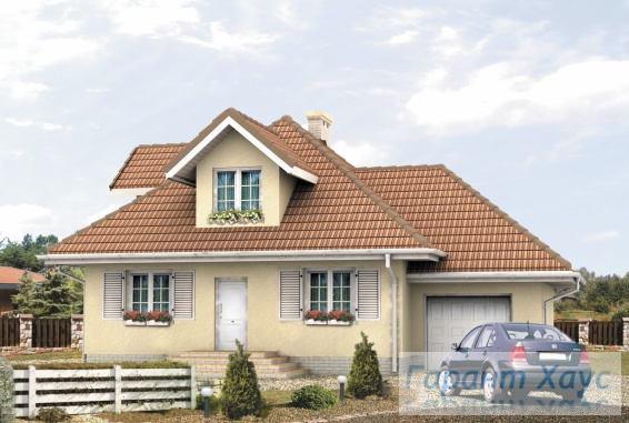 Проект одноквартирного дома № 73