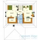 78-proekt.ru - Проект Одноквартирного Дома №230.  План Второго Этажа