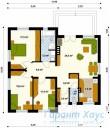 78-proekt.ru - Проект Одноквартирного Дома №89.  План Первого Этажа