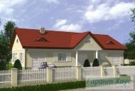 78-proekt.ru - Проект Одноквартирного Дома №248.  Вид №1