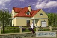 78-proekt.ru - Проект Одноквартирного Дома №148.  Вид №1