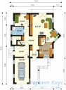 78-proekt.ru - Проект Одноквартирного Дома №192.  План Первого Этажа