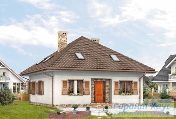 Проект одноквартирного дома № 256