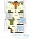 78-proekt.ru - Проект Одноквартирного Дома №103.  План Второго Этажа