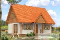 Проект дачного дома № 12