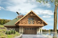 Проект дачного дома № 10