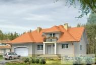 78-proekt.ru - Проект Одноквартирного Дома №4.  Вид №1
