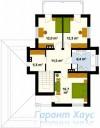 78-proekt.ru - Проект Одноквартирного Дома №85.  План Второго Этажа