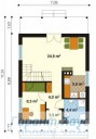 78-proekt.ru - Проект Одноквартирного Дома №194.  План Первого Этажа