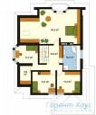 78-proekt.ru - Проект Одноквартирного Дома №254.  План Второго Этажа