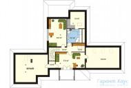 78-proekt.ru - Проект Одноквартирного Дома №241.  План Второго Этажа