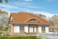 78-proekt.ru - Проект Одноквартирного Дома №24.  Вид №1