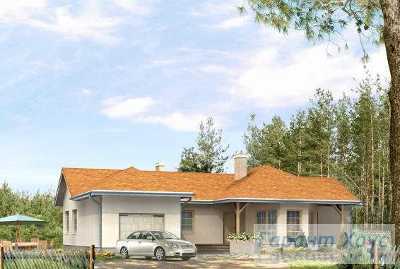 Проект одноквартирного дома № 111