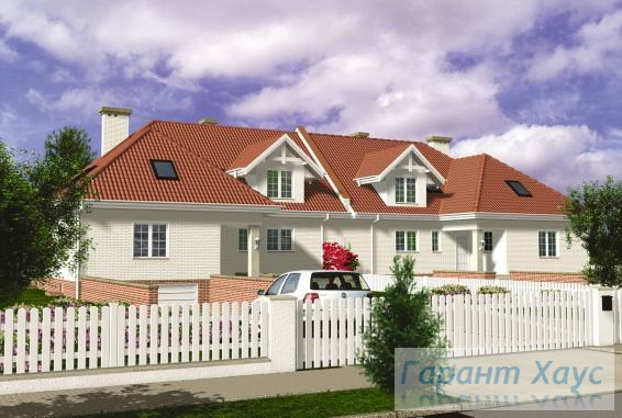 Проект двухквартирного дома № 9