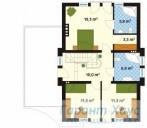 78-proekt.ru - Проект Одноквартирного Дома №276.  План Второго Этажа