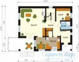 78-proekt.ru - Проект Одноквартирного Дома №187.  План Первого Этажа