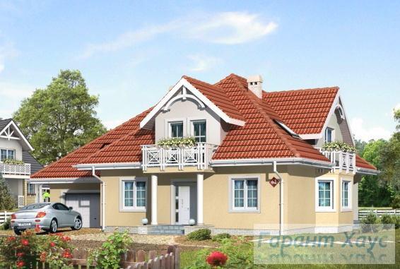 Проект одноквартирного дома № 201