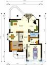 78-proekt.ru - Проект Одноквартирного Дома №253.  План Первого Этажа