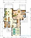 78-proekt.ru - Проект Двухквартирного Дома №21.  План Первого Этажа