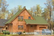 78-proekt.ru - Проект Одноквартирного Дома №273.  Вид №1