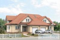 Проект двухквартирного дома № 18