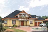 78-proekt.ru - Проект Одноквартирного Дома №155.  Вид №1
