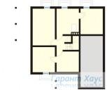 78-proekt.ru - Проект Одноквартирного Дома №306.  План Подвала