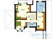 78-proekt.ru - Проект Одноквартирного Дома №105.  План Второго Этажа