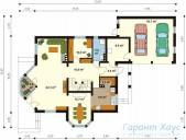 78-proekt.ru - Проект Одноквартирного Дома №142.  План Первого Этажа