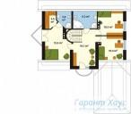 78-proekt.ru - Проект Одноквартирного Дома №42.  План Второго Этажа