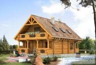 78-proekt.ru - Проект Одноквартирного Дома №153.  Вид №1