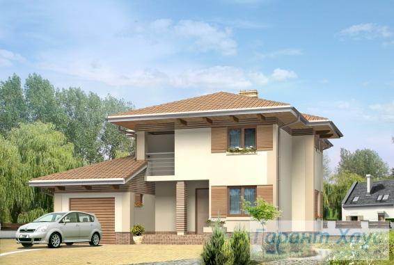 Проект одноквартирного дома № 85