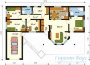 78-proekt.ru - Проект Одноквартирного Дома №111.  План Первого Этажа