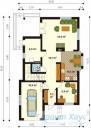 78-proekt.ru - Проект Одноквартирного Дома №314.  План Первого Этажа