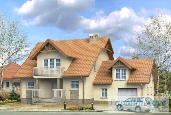 Проект одноквартирного дома № 59