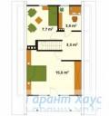 78-proekt.ru - Проект Дачного Дома №7.  План Второго Этажа