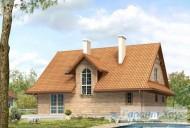 78-proekt.ru - Проект Одноквартирного Дома №237.  Вид №2