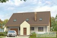 Проект одноквартирного дома № 48