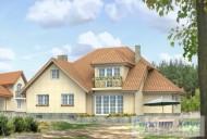 78-proekt.ru - Проект Одноквартирного Дома №105.  Вид №2