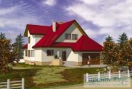 78-proekt.ru - Проект Одноквартирного Дома №255.  Вид №1