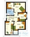 78-proekt.ru - Проект Одноквартирного Дома №318.  План Второго Этажа