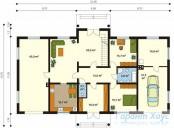 78-proekt.ru - Проект Одноквартирного Дома №248.  План Первого Этажа