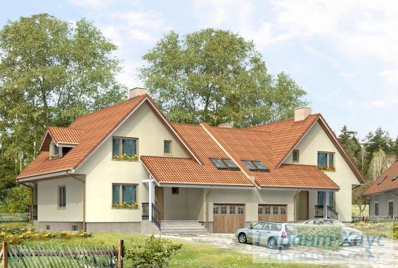 Проект двухквартирного дома № 5