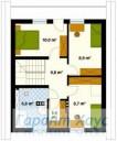 78-proekt.ru - Проект Одноквартирного Дома №218.  План Второго Этажа